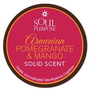 Picture of Armenian Pomegranate Mango Solid Scent - 0.5 oz